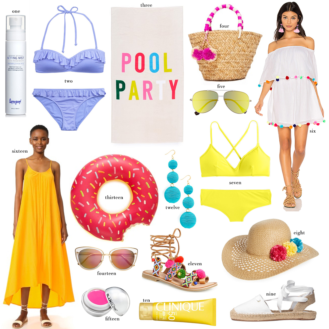 Pool Party Favorites Under $100 | The Style Scribe