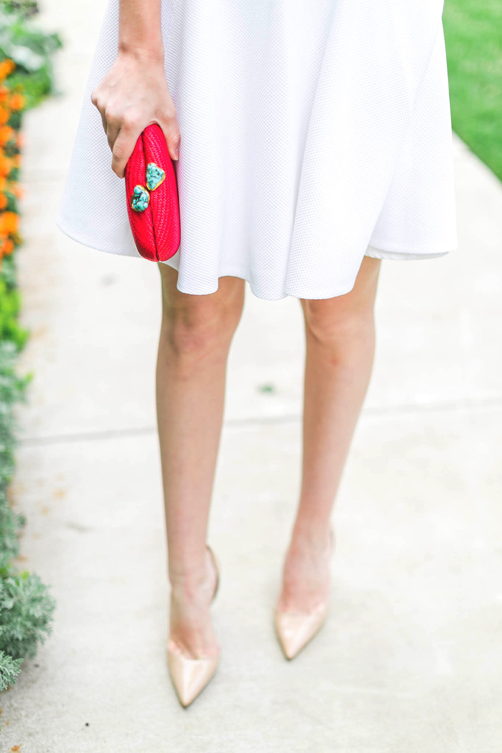 Rebecca Taylor Scalloped Dress | The Style Scribe
