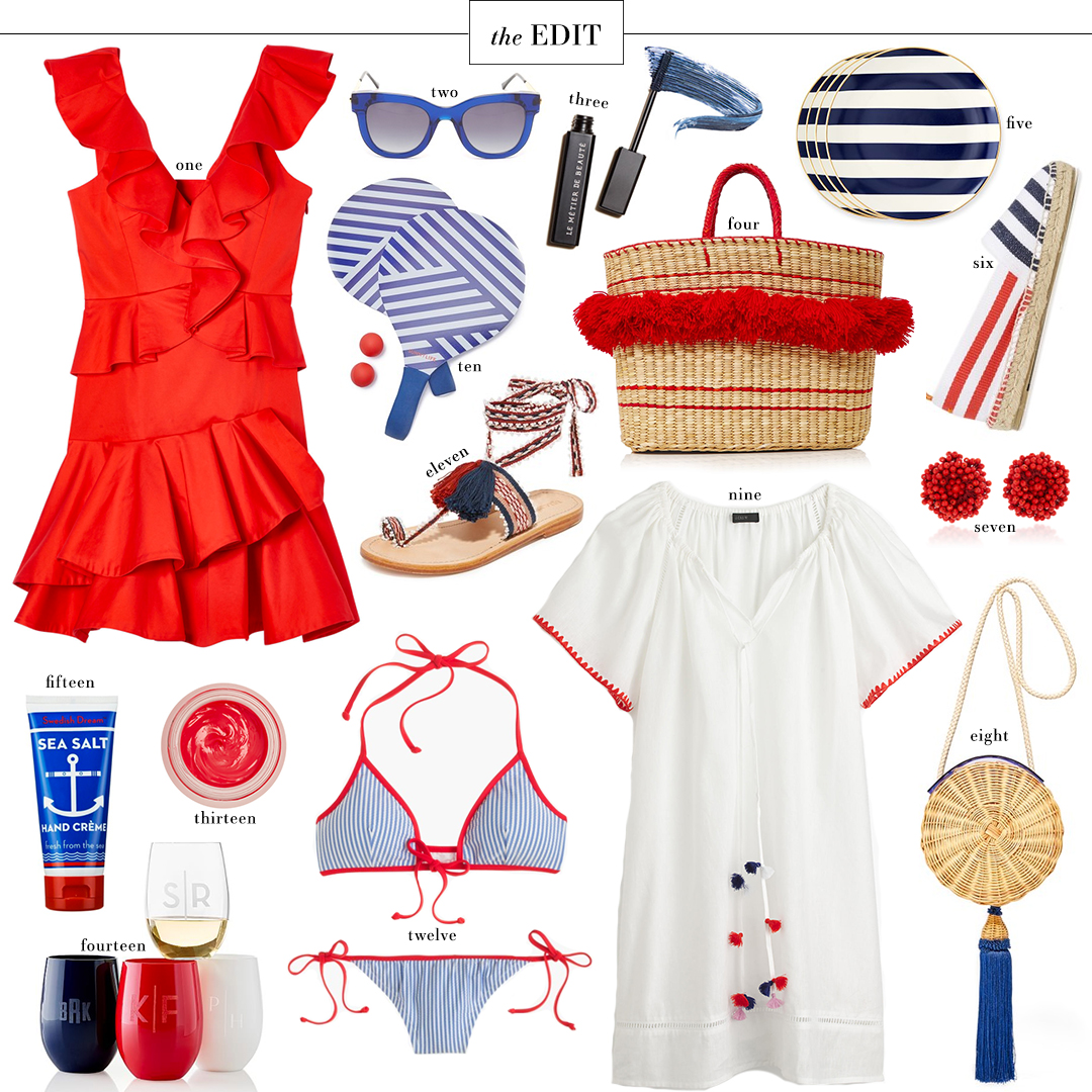 The Edit, 4th of July Roundup | The Style Scribe