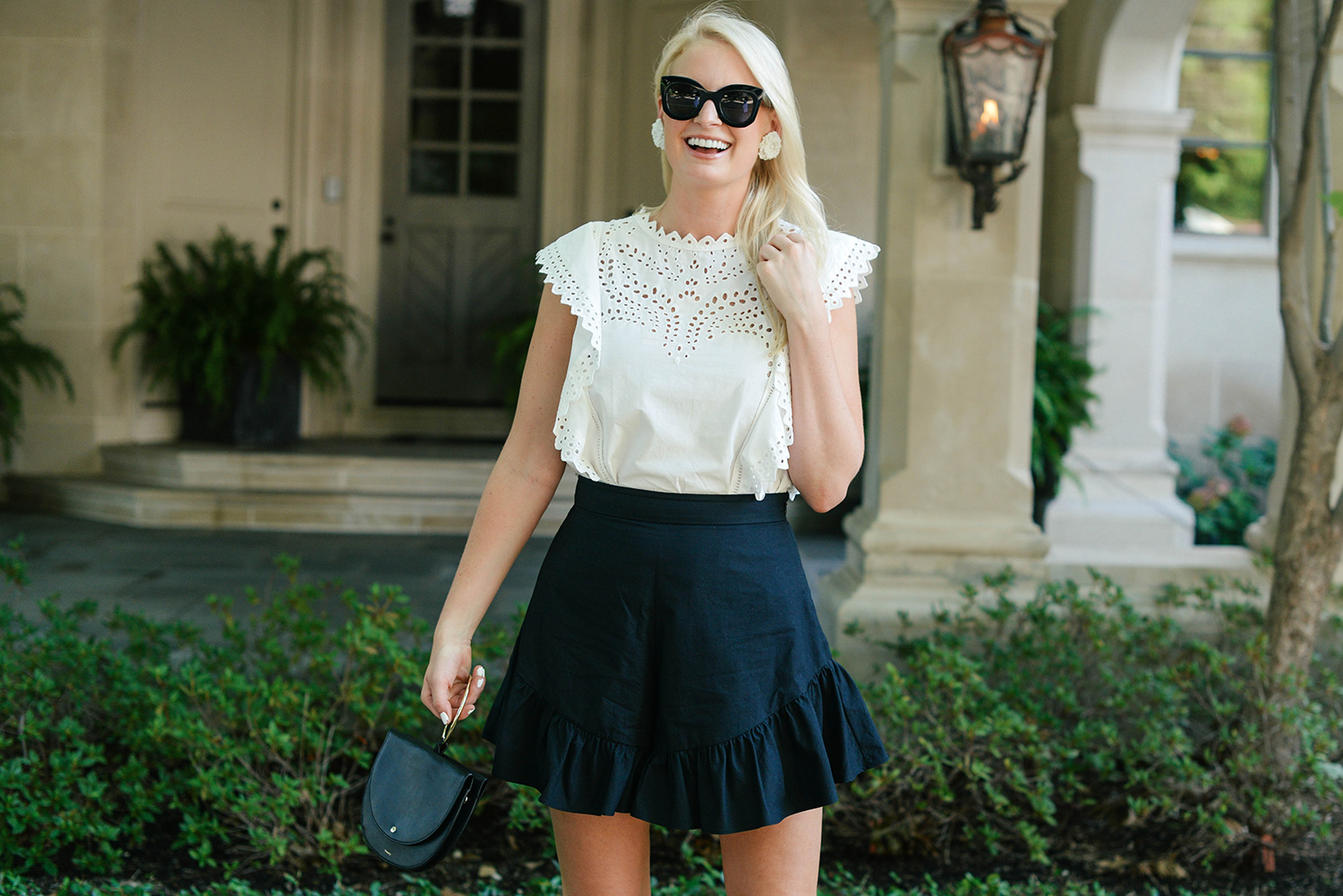 Ruffle Shorts | The Style Scribe
