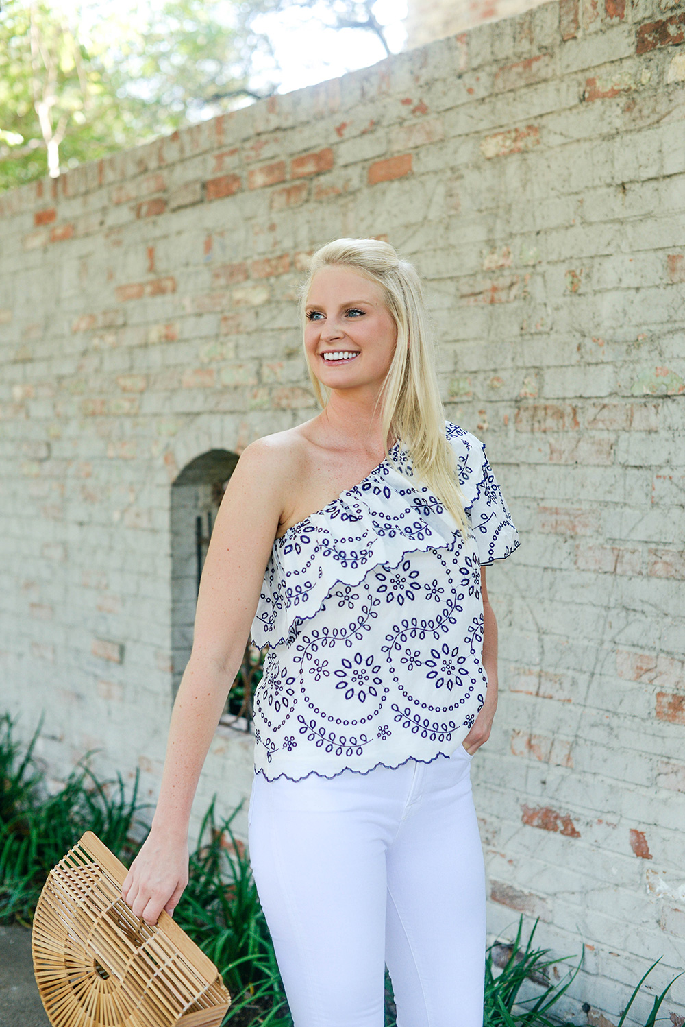 Devlin Eyelet Top | The Style Scribe