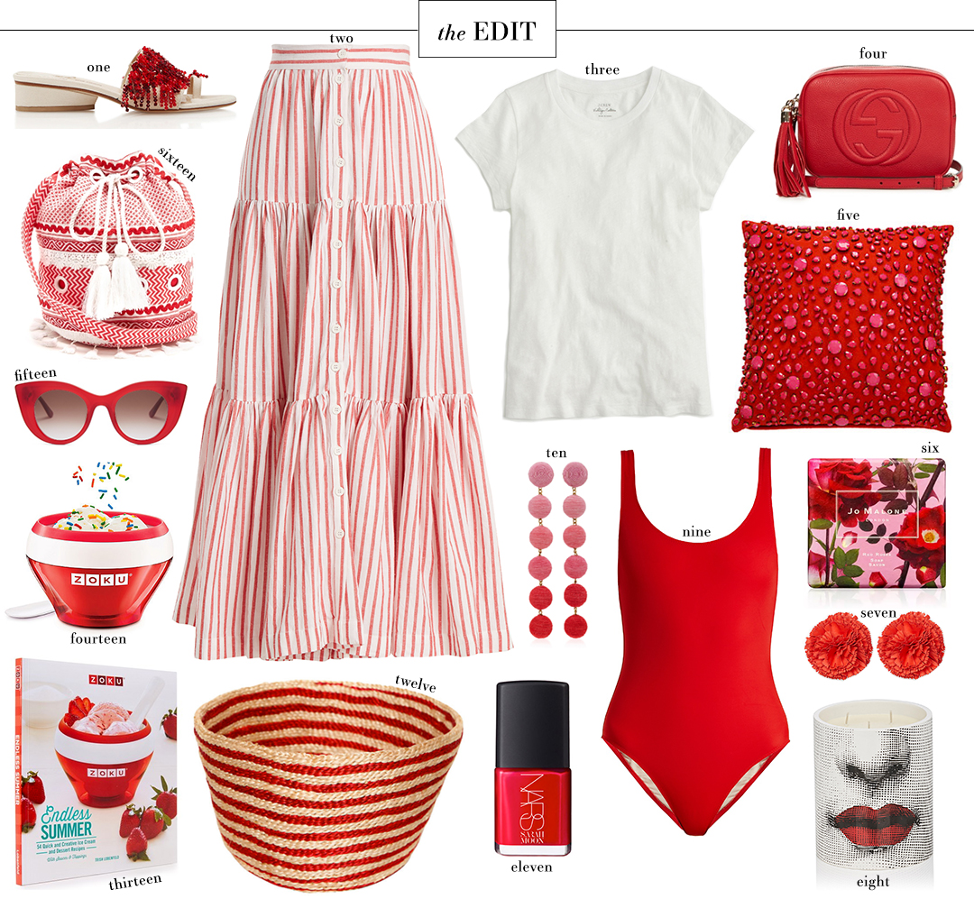 Red Hot Summer Style Roundup // The Edit | The Style Scribe