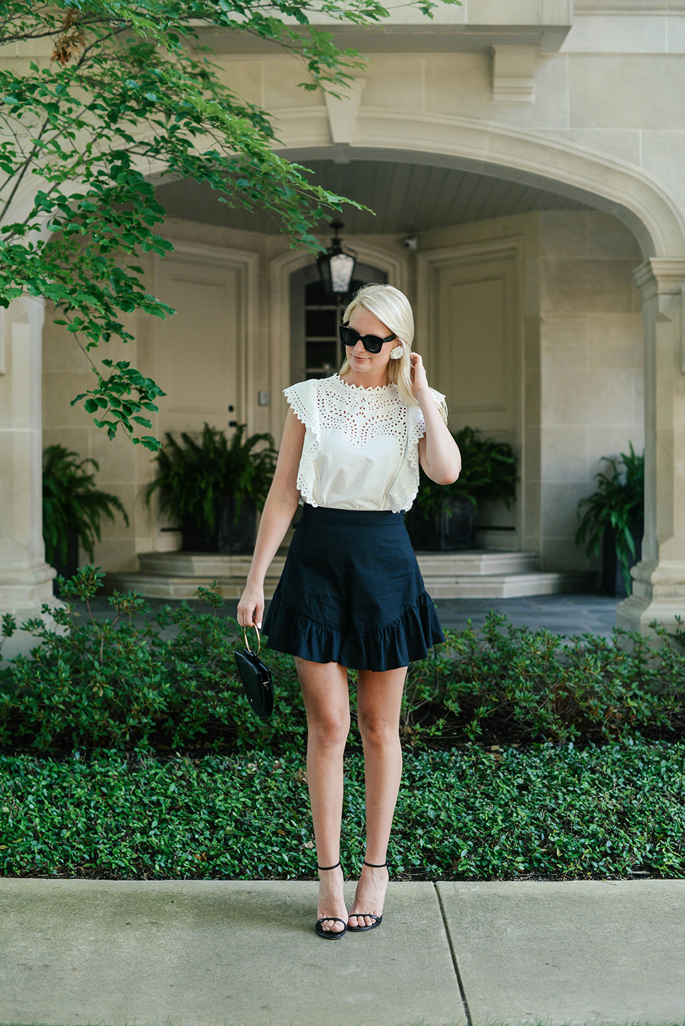 Creatures of Comfort Ruffle Shorts | The Style Scribe