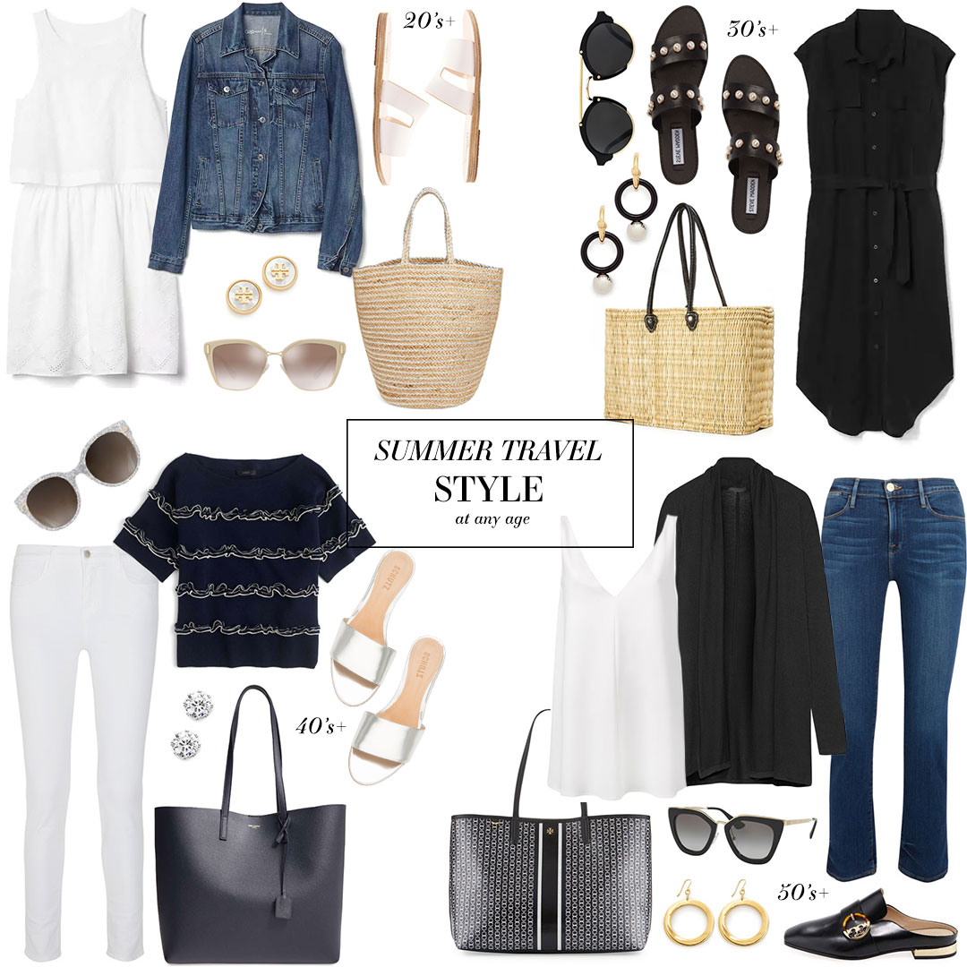 Summer Travel Style // At Any Age | The Style Scribe