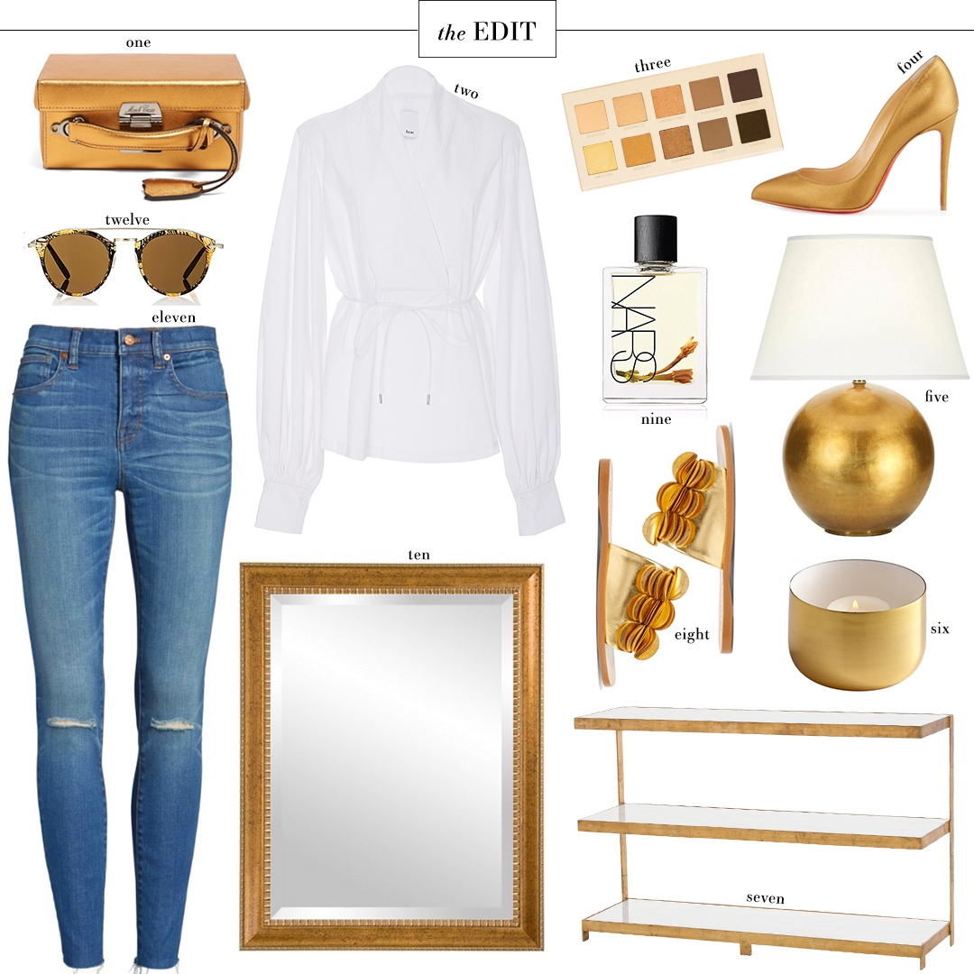 Gold & Bronze Roundup | The Style Scribe