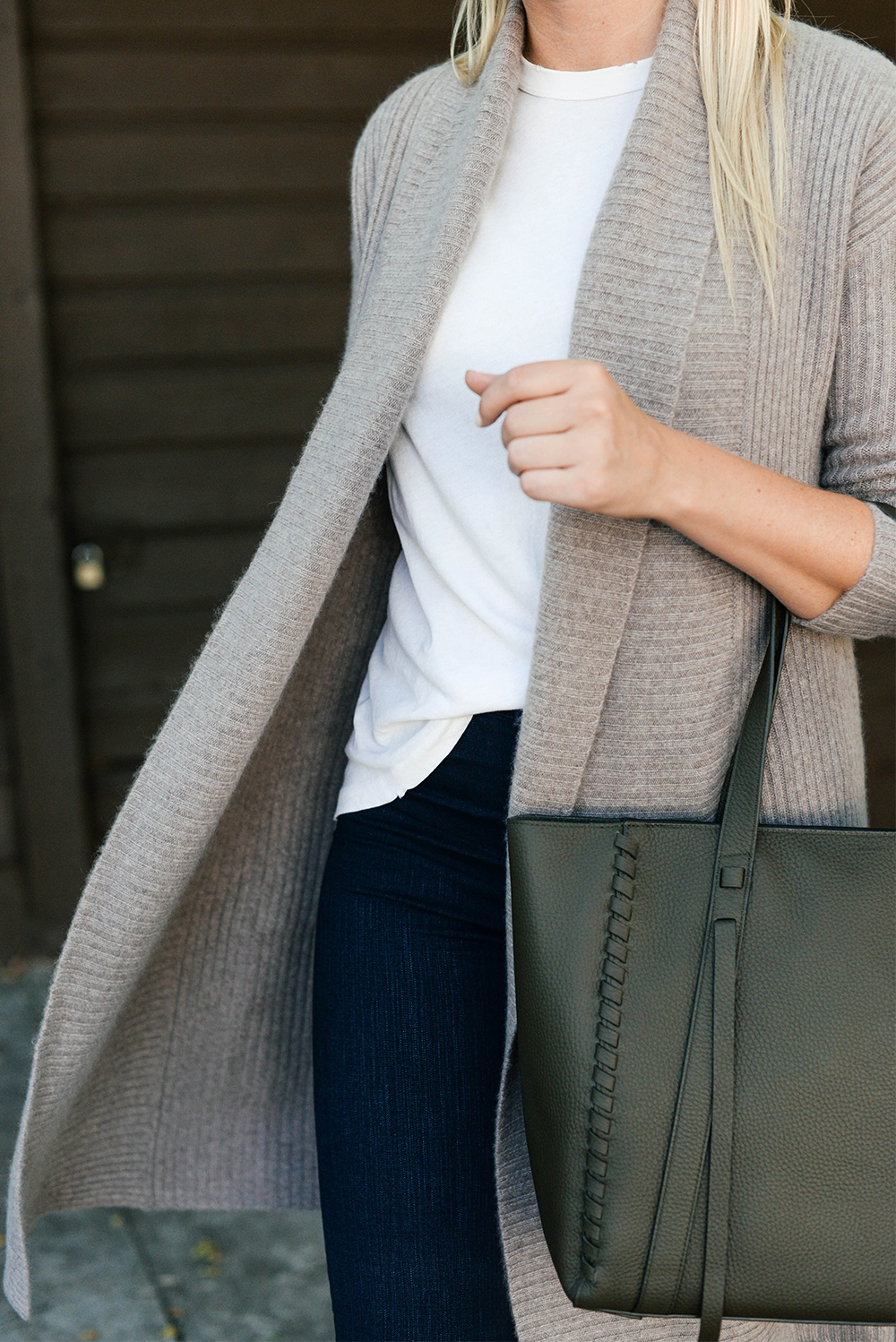 All Saints Leather Tote, Nordstrom Anniversary Sale | The Style Scribe