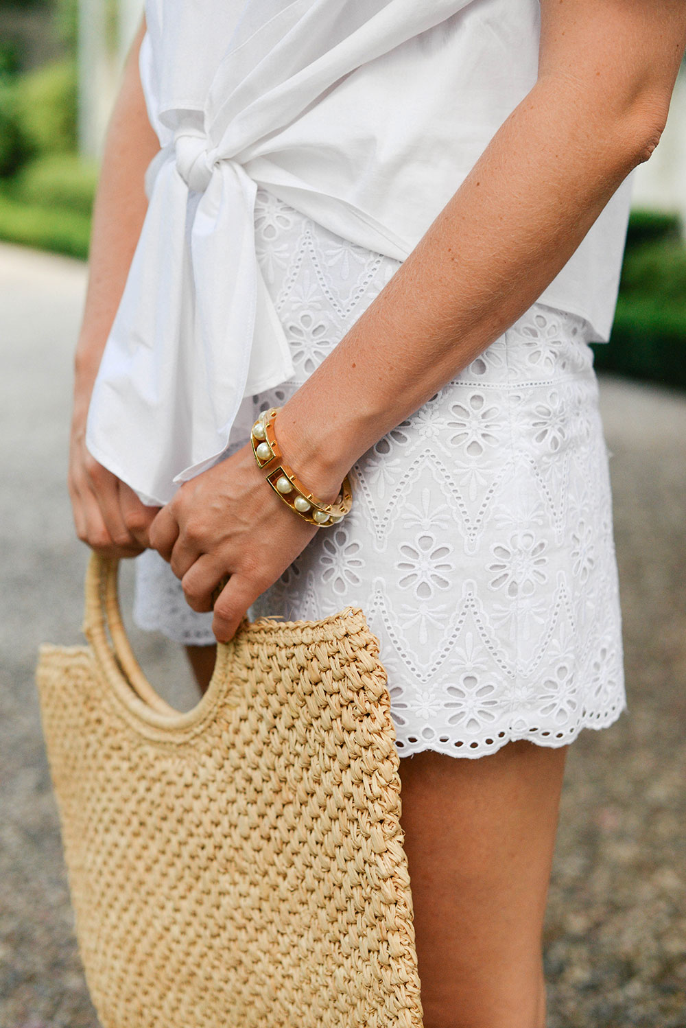 Eyelet Shorts | The Style Scribe