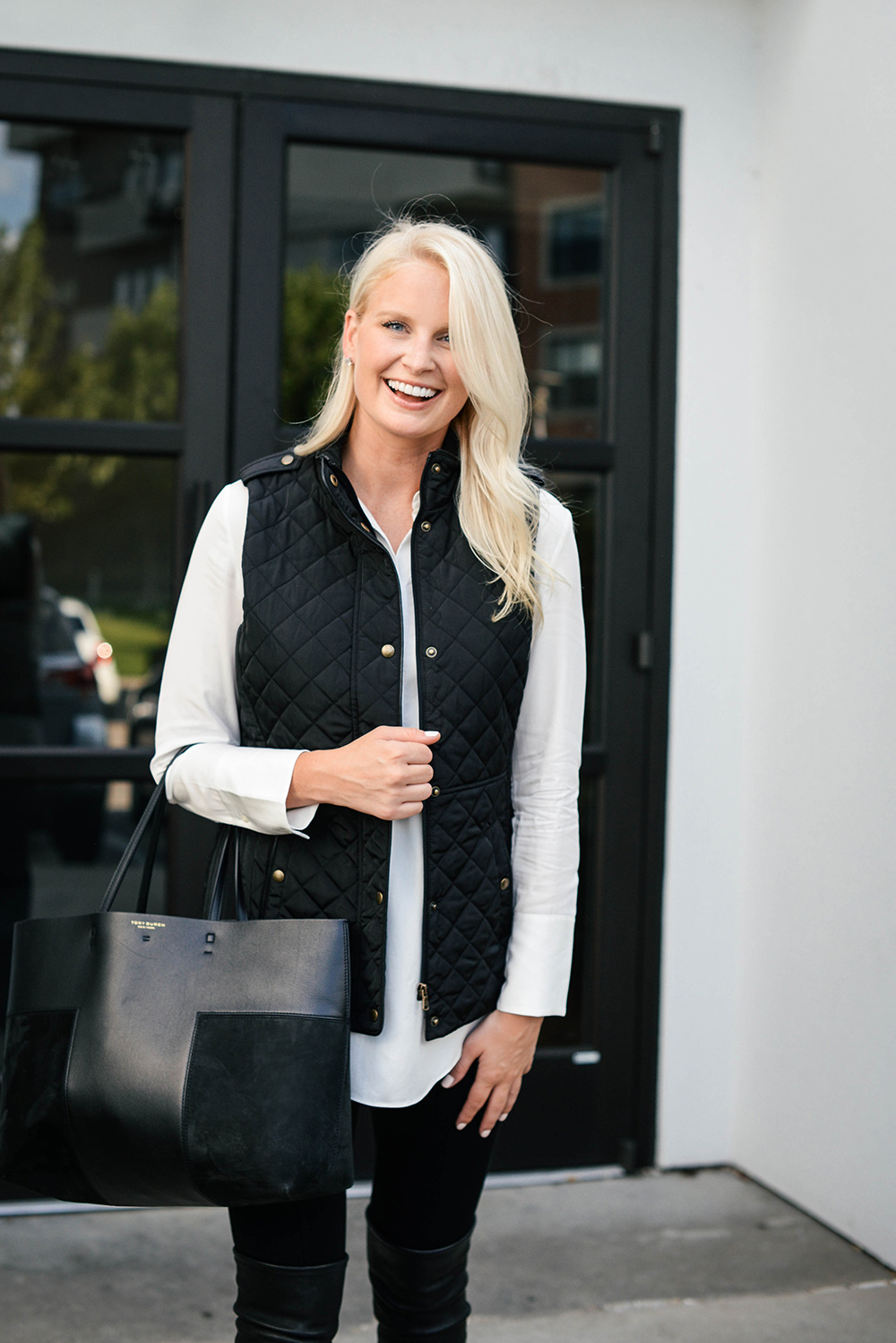 Quilted Vest, Nordstrom Anniversary Sale | The Style Scribe