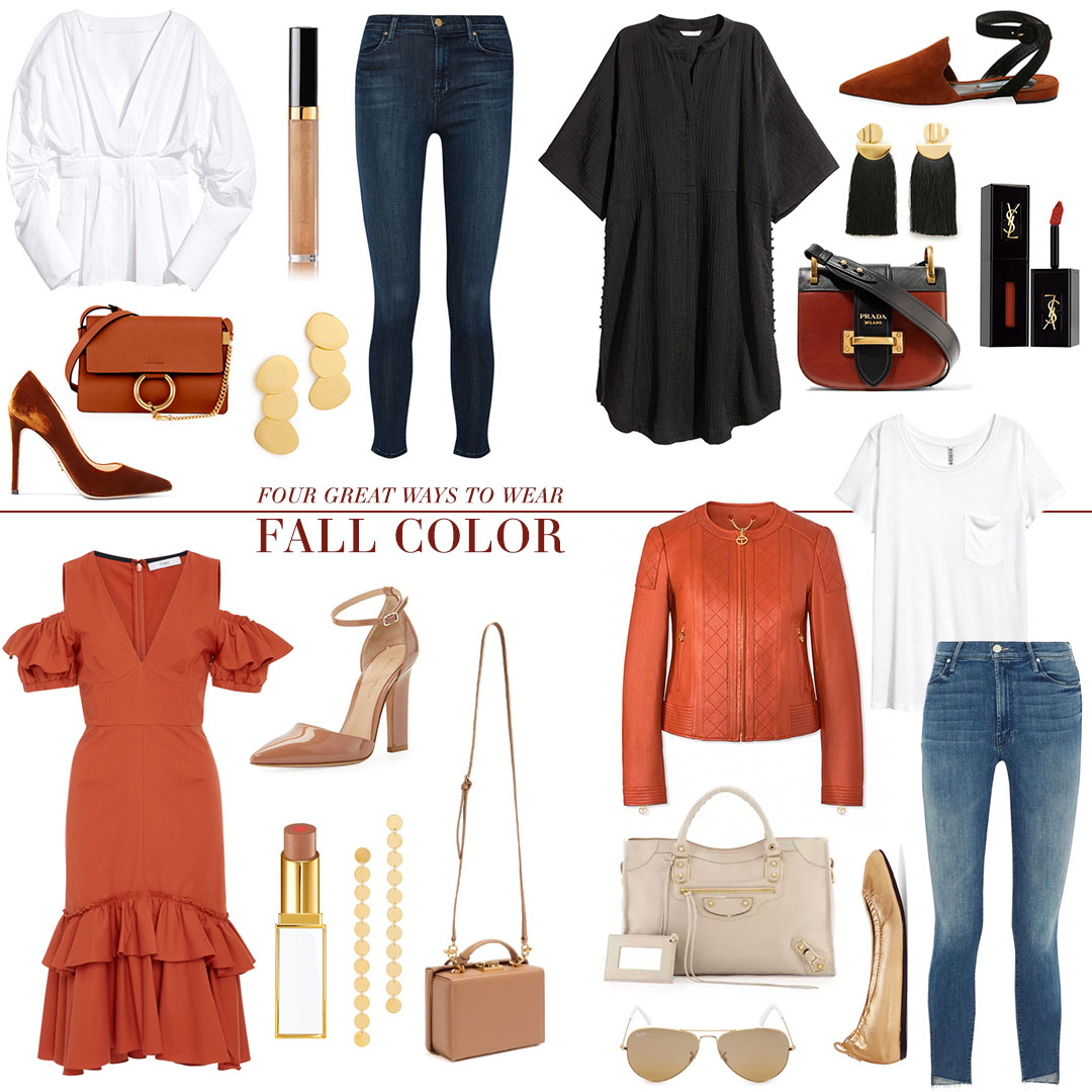 Four Great Ways To Wear Fall Color | The Style Scribe