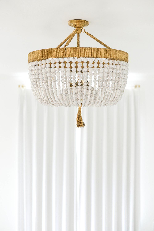 Ro Sham Beaux Malibu Beaded Chandelier Chic Interiors In