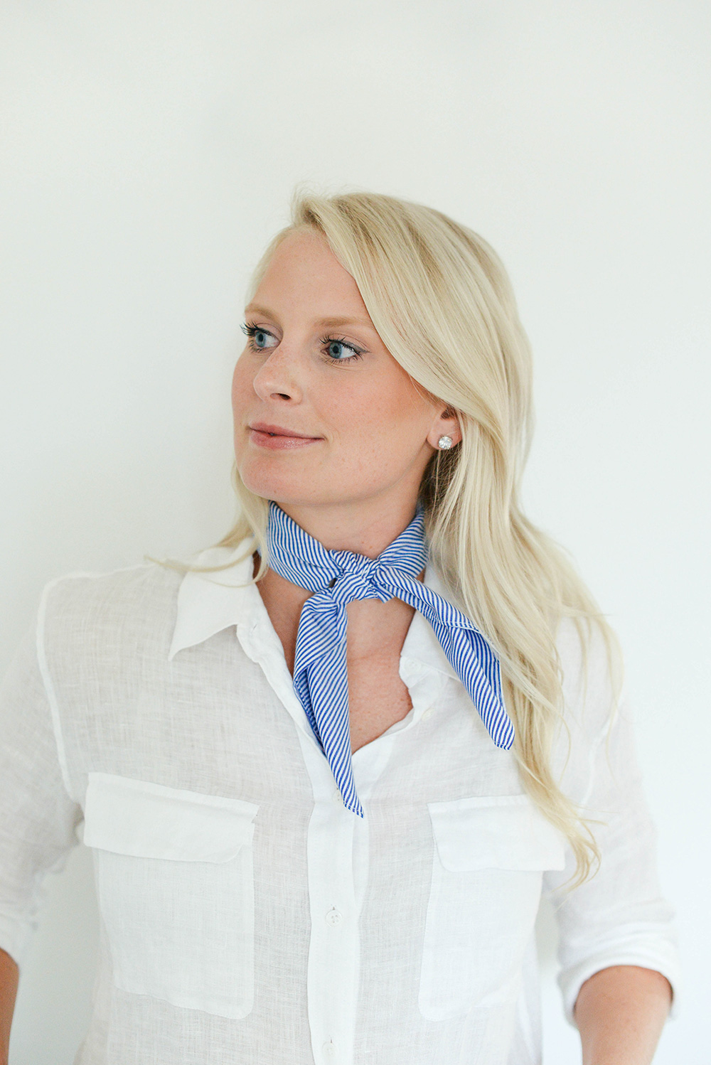 Neck Scarf Styling Tutorial | The Style Scribe