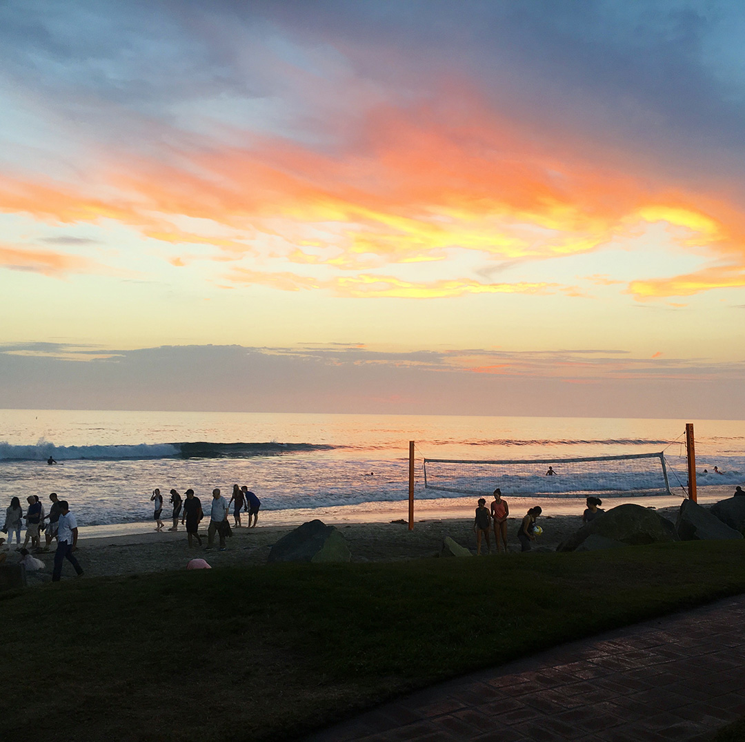 Sunset at Jake's Del Mar | The Style Scribe