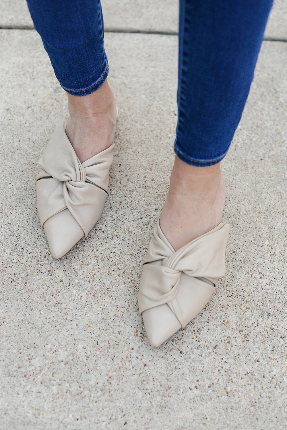 The Fix Knotted Mules | The Style Scribe