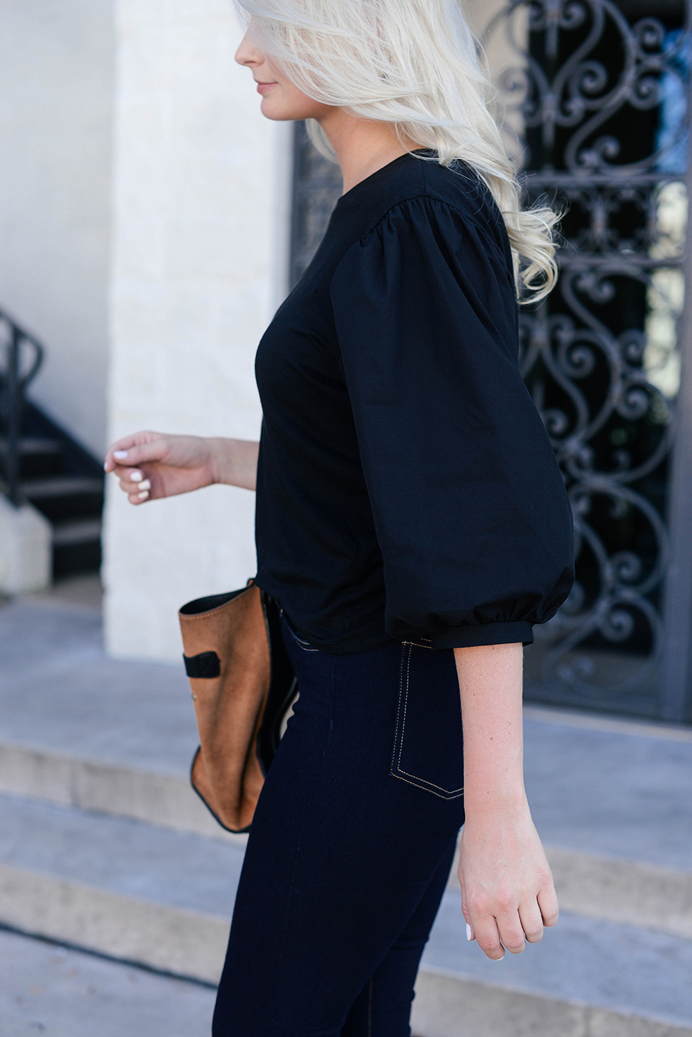 Balloon Sleeve Blouse | The Style Scribe