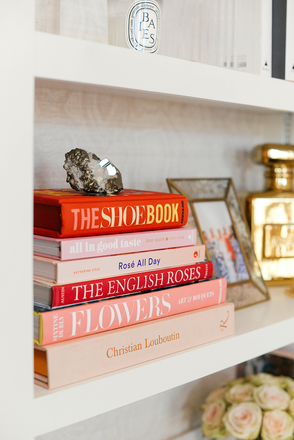 Home Office Sneak Peek // Bookshelf Styling | The Style Scribe