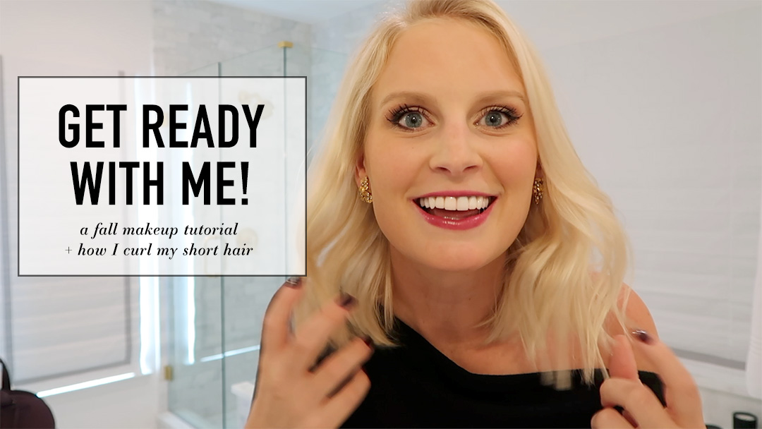 Pre-Fall Smokey Eye Tutorial + Styling My Shorter Hair | The Style Scribe