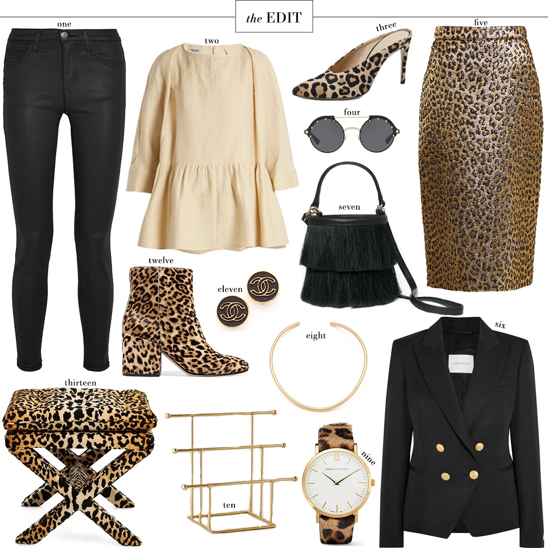 Big Fall 2017 Trends, Leopard Prints | The Style Scribe