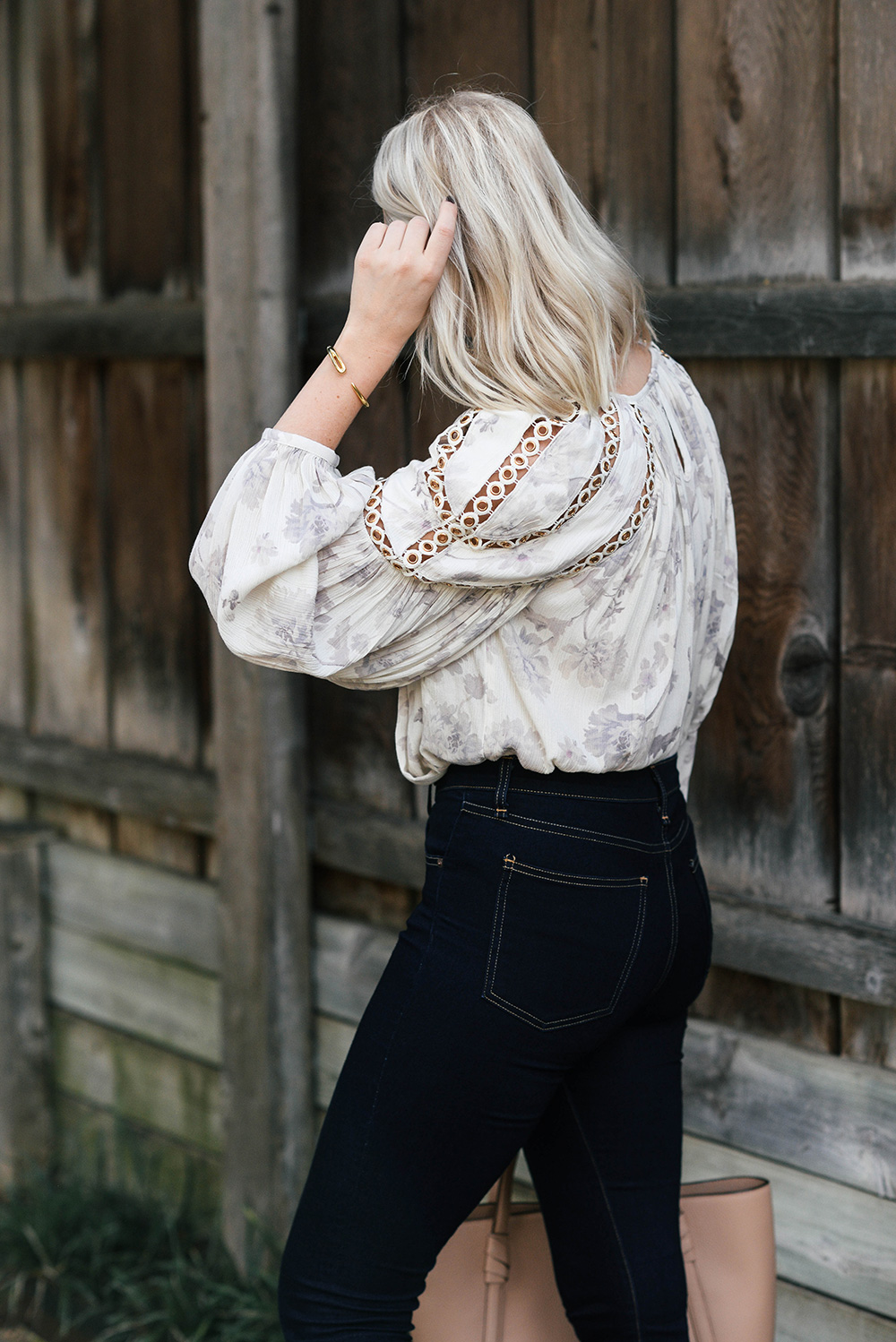 Topshop Grommet Detail Blouse | The Style Scribe