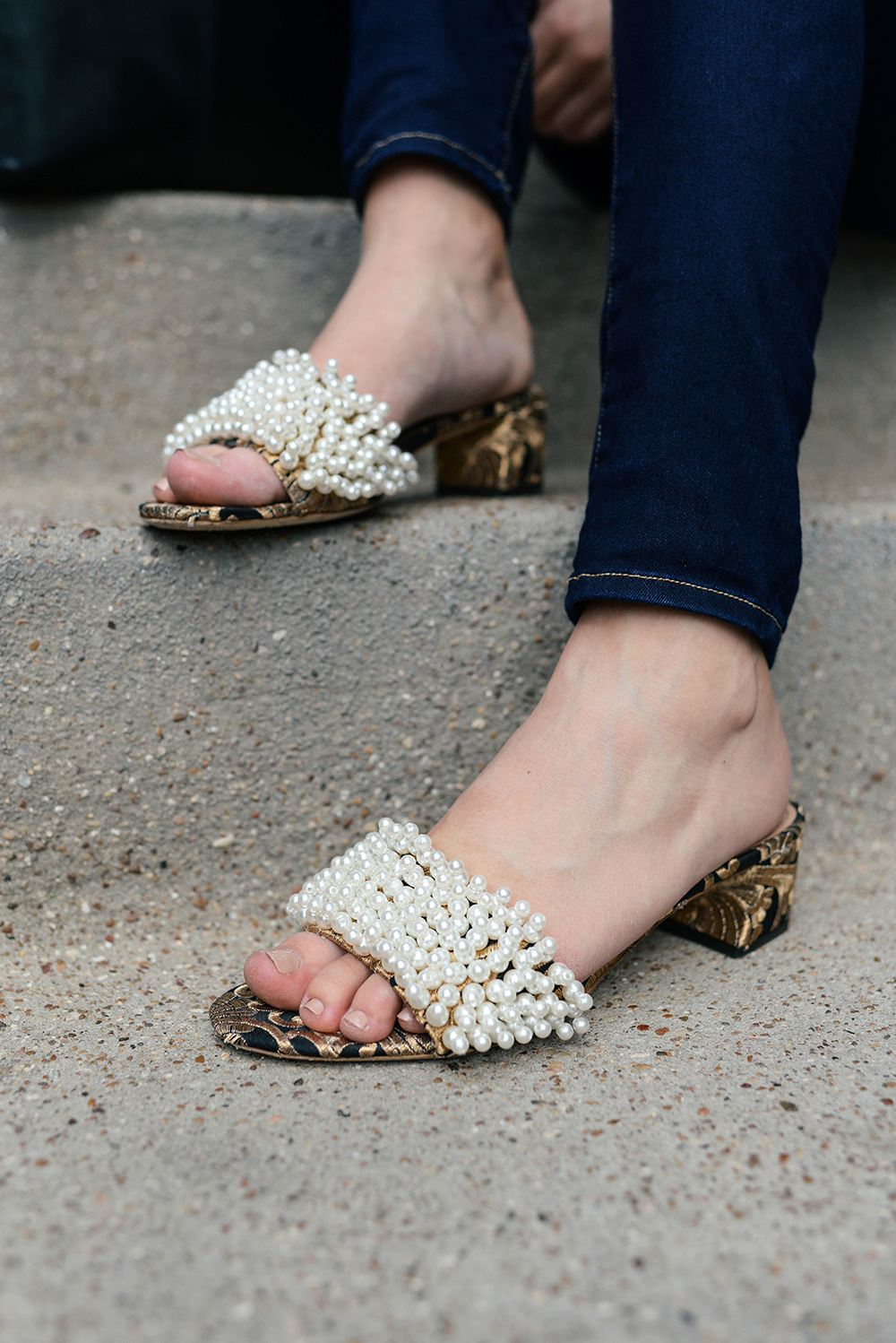 Tory Burch Pearl Slides | The Style Scribe