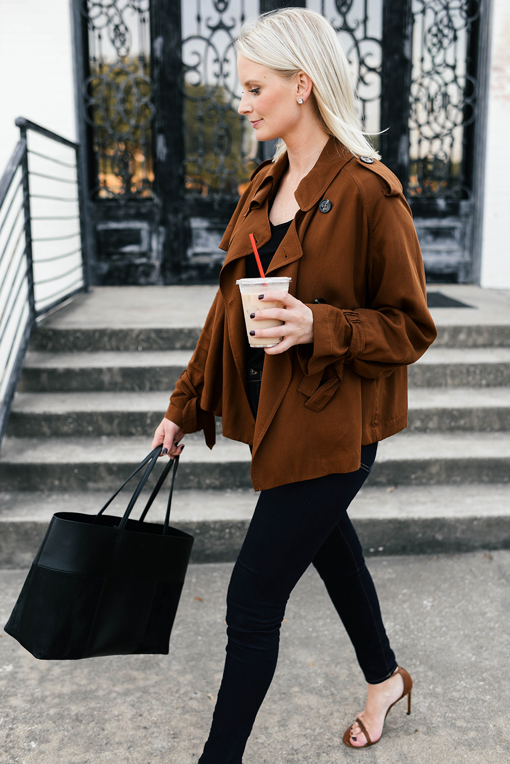 Zara Trench Jacket | The Style Scribe