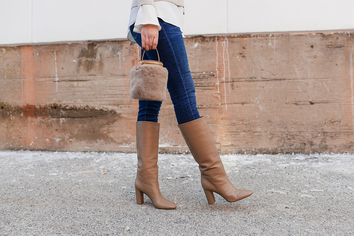 Gianvito Rossi Laura Leather Boots | The Style Scribe
