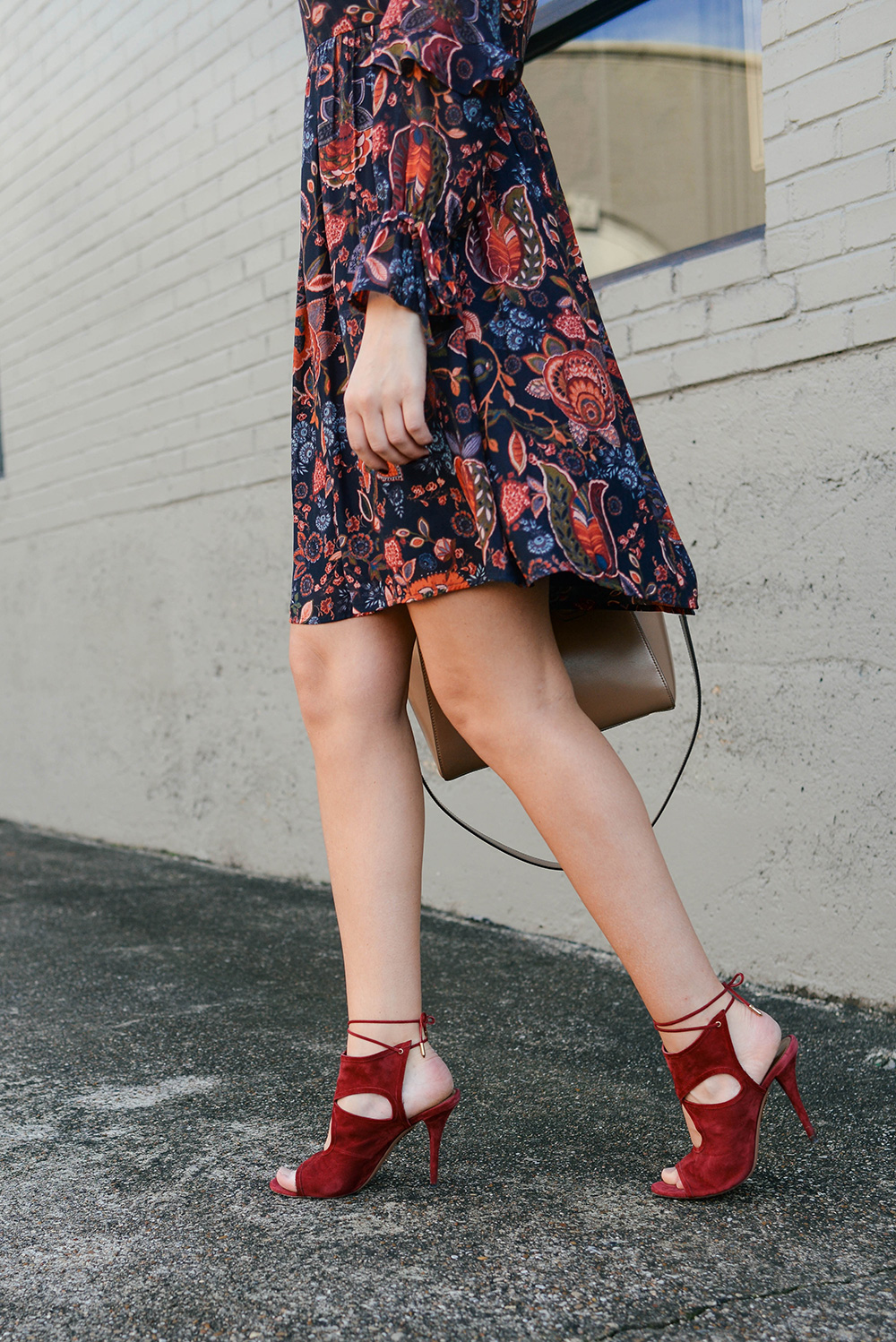 Loft Paisley Dress | The Style Scribe