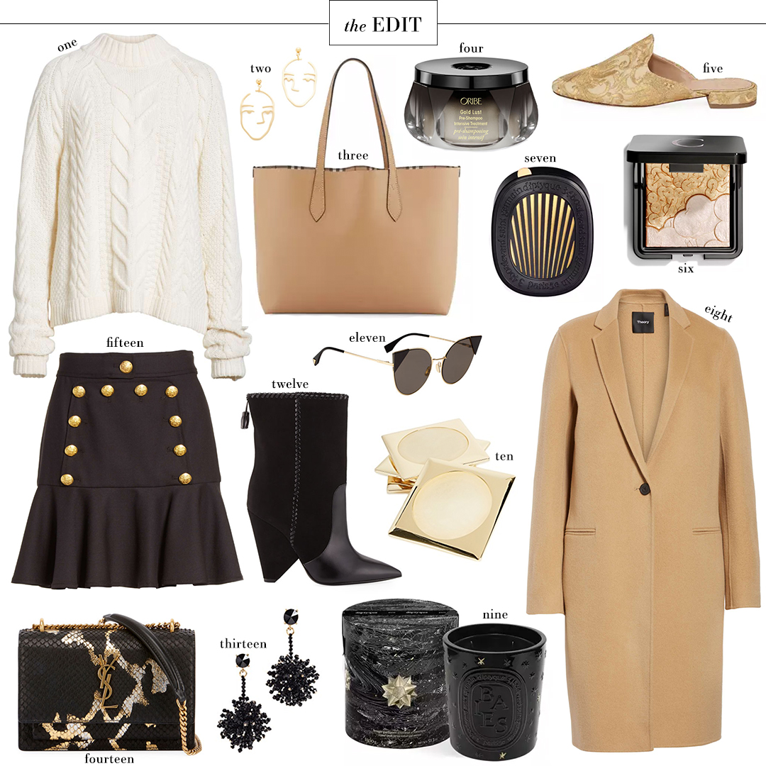 Theory Camel Coat | The Style Scribe