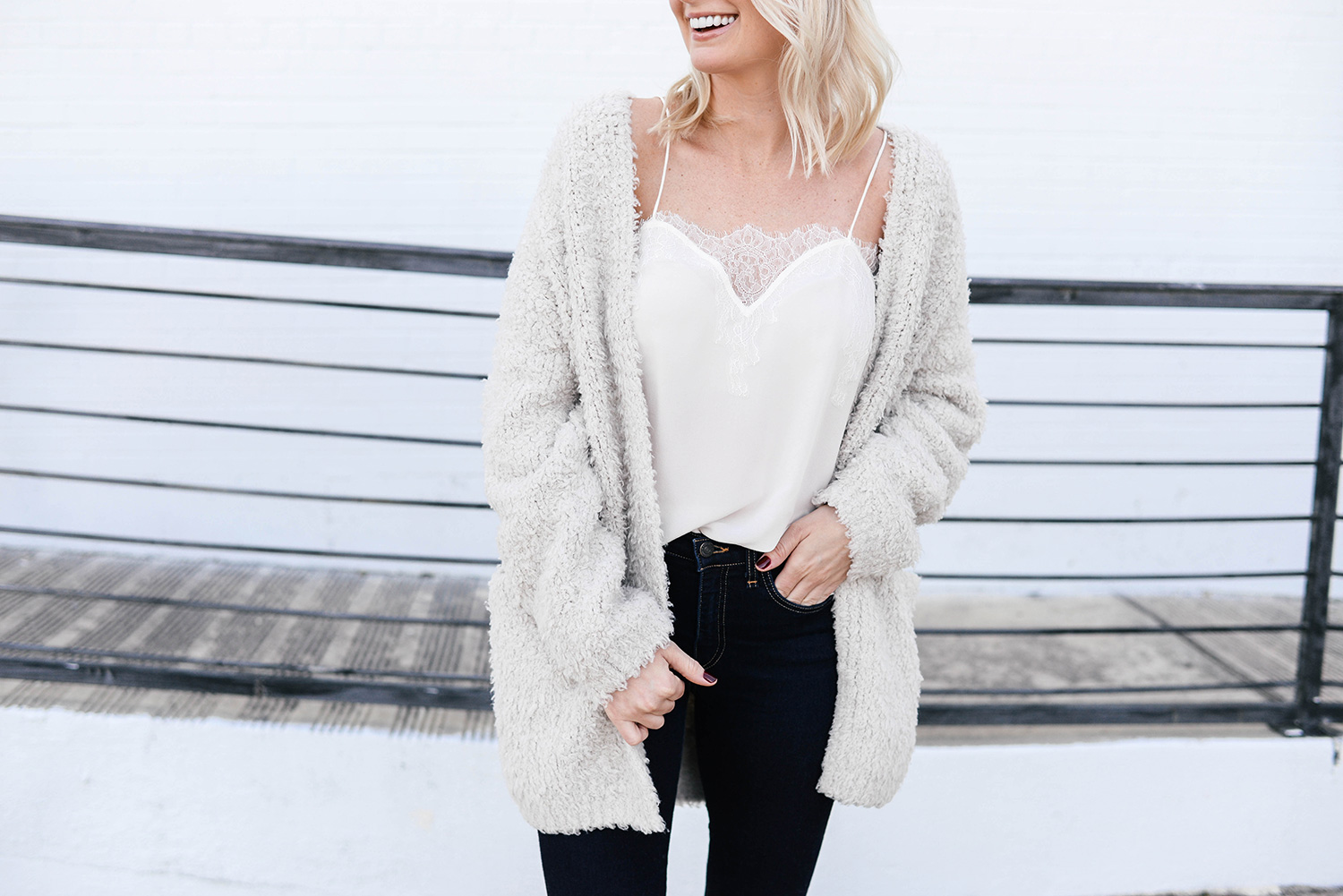 Vince Teddy Cardigan | The Style Scribe