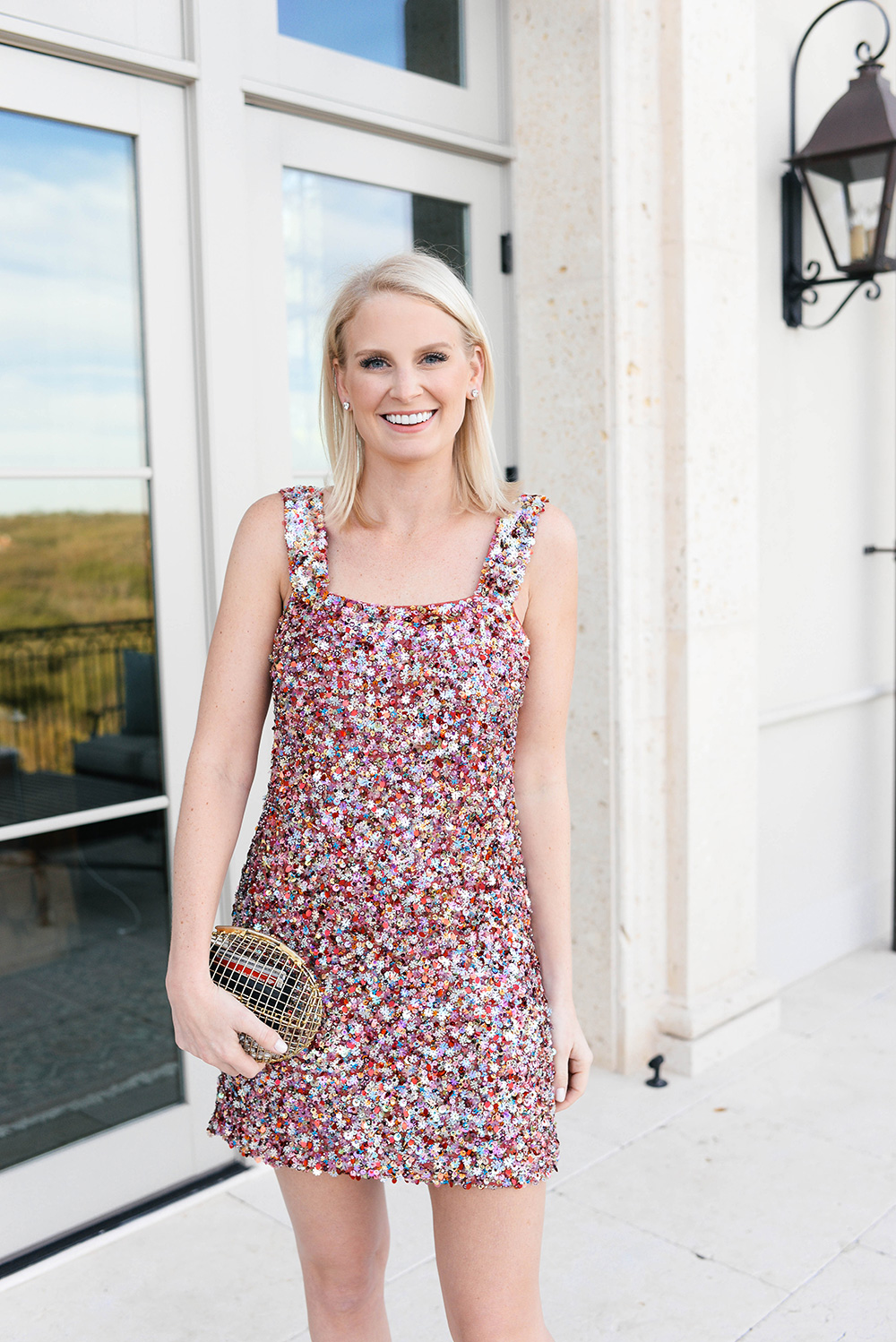 Alexis Sequin Dress | Holiday Party Outfit Guide