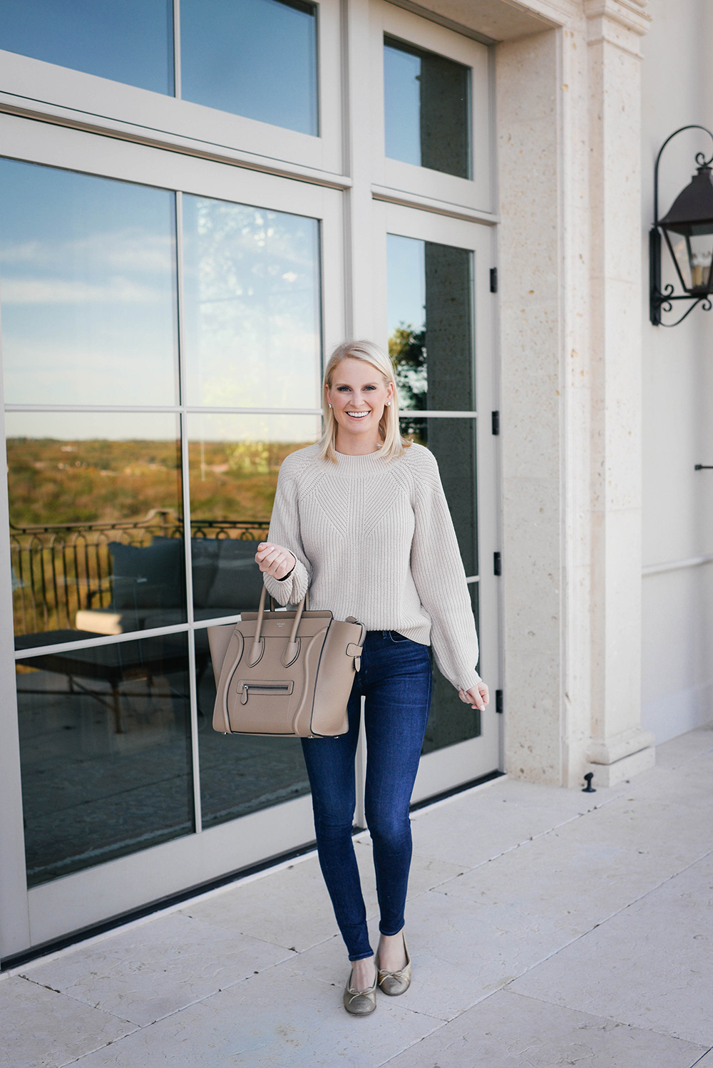 BP Shaker Stitch Sweater | The Style Scribe