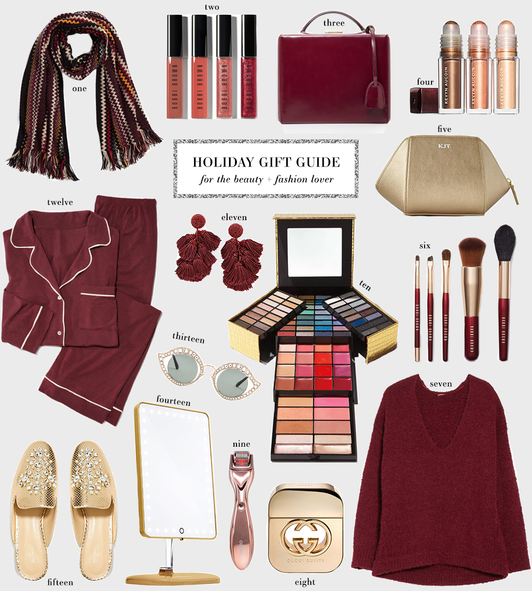 Holiday Gift Guide for the Fashion & Beauty Lover | The Style Scribe