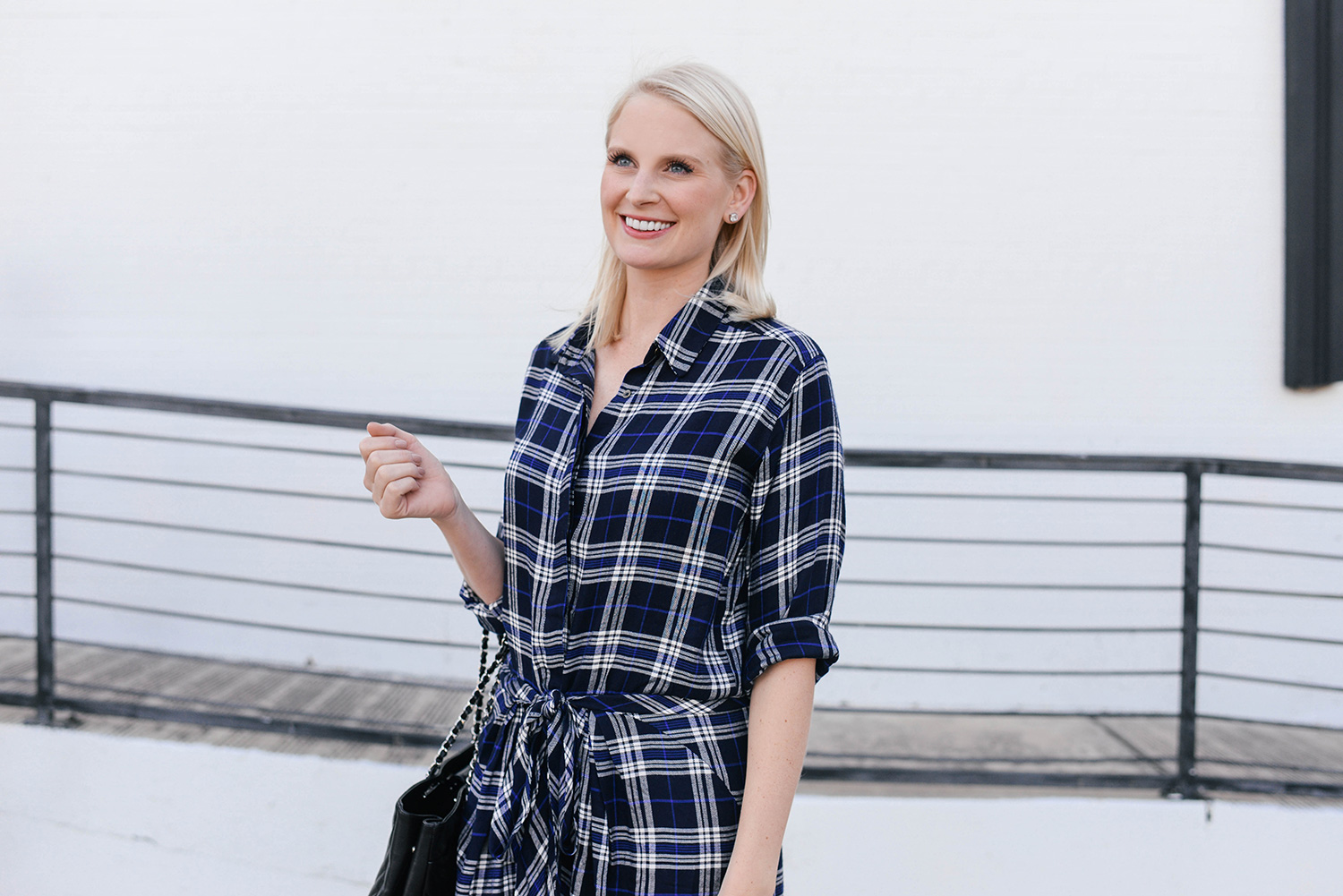 Heartloom Kasey Dress in Plaid | Merritt Beck