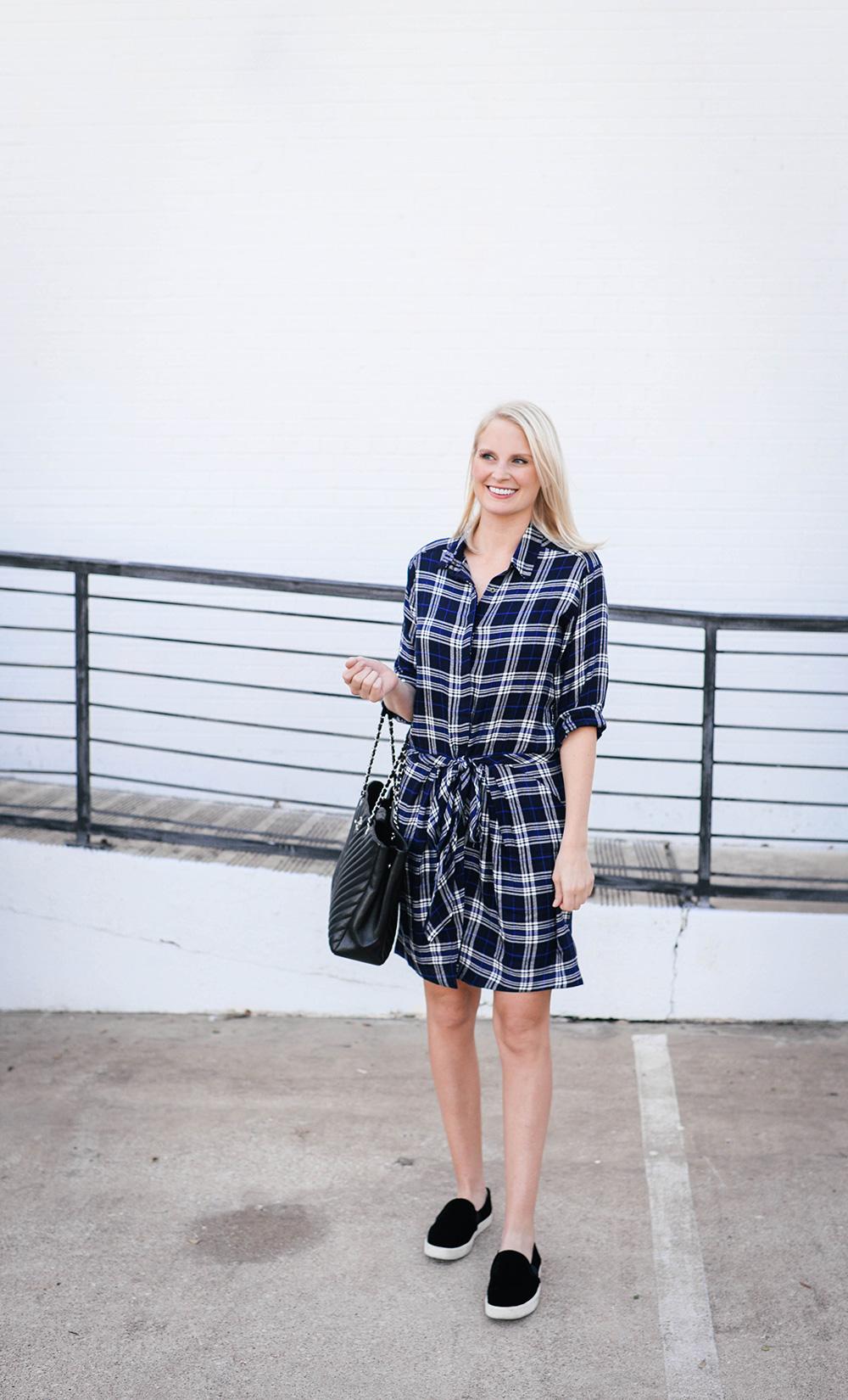 Heartloom Kasey Dress in Plaid   Merritt Beck