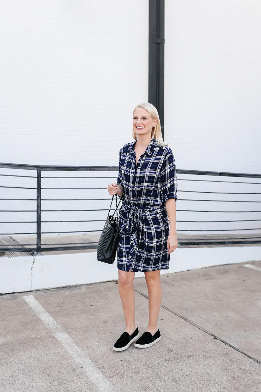 Heartloom Kasey Dress in Plaid | Merritt Beck