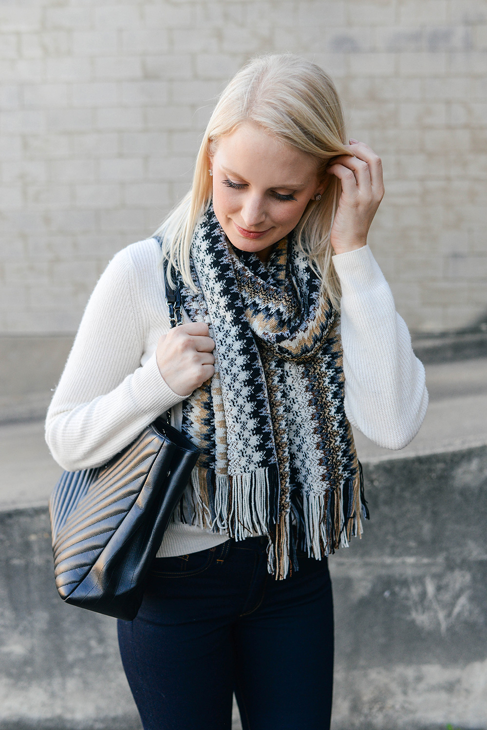 Missoni Chevron Scarf | Dallas Style Bloggers