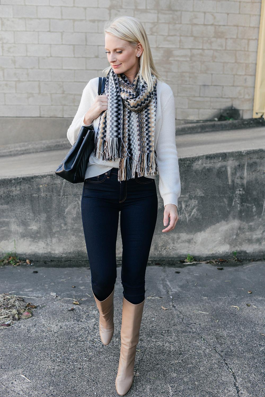 Missoni Chevron Scarf | Dallas Style Bloggers