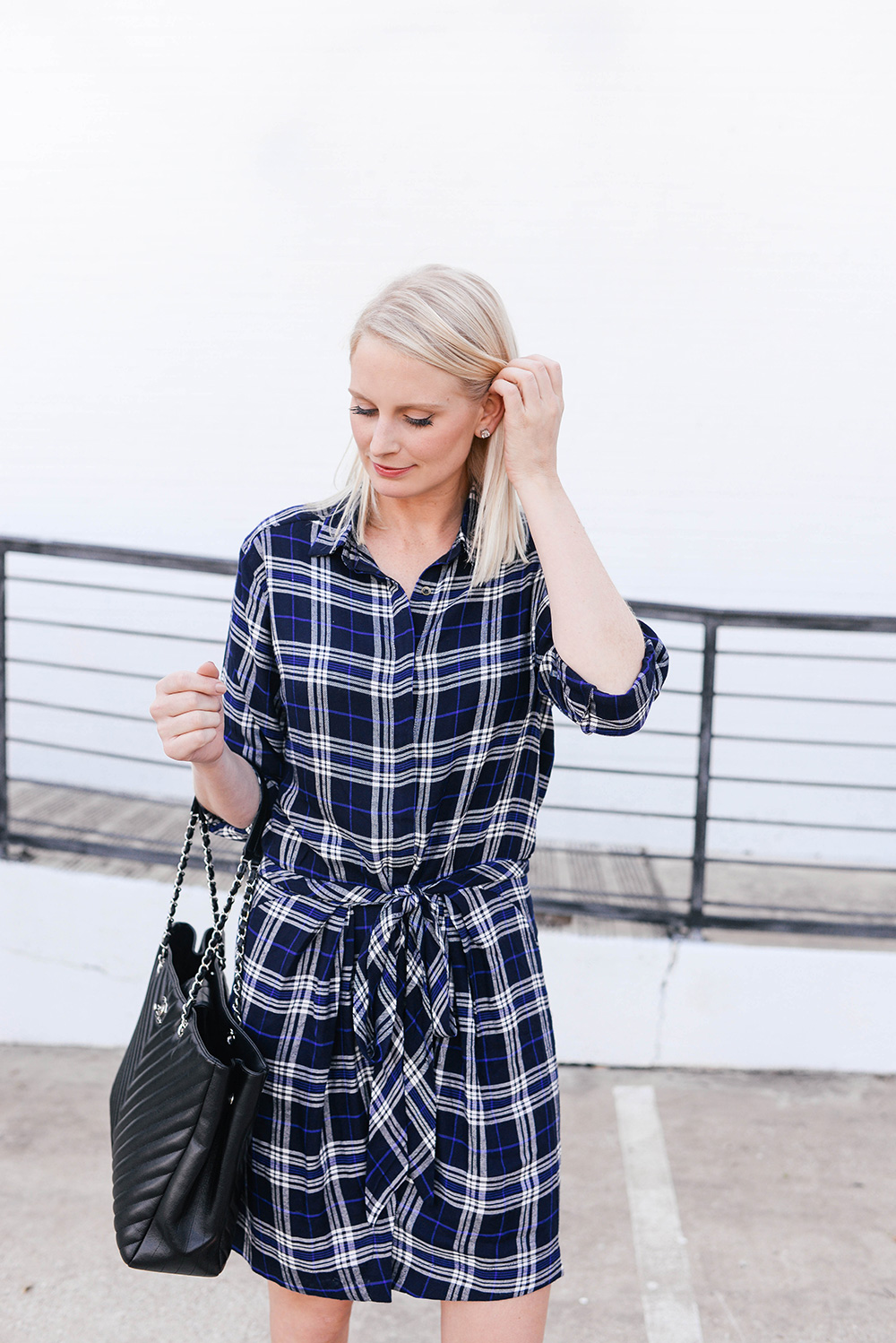 Heartloom Plaid Dress | The Style Scribe