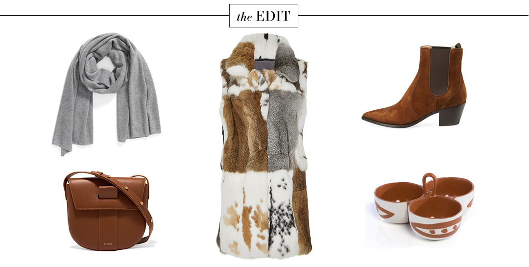 Co Patchwork Fur Vest | Dallas Fashion Blogger