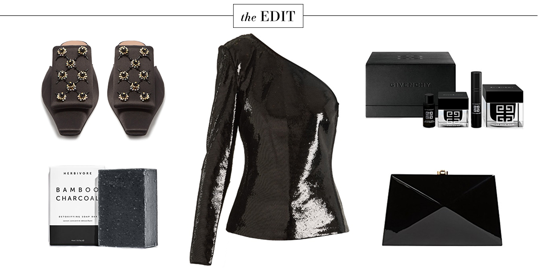 DVF Sequined One Shoulder Top   The Edit