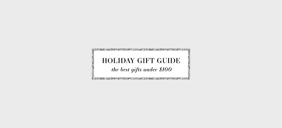 Best Holiday Gifts Under $100   2017 Holiday Gift Guide