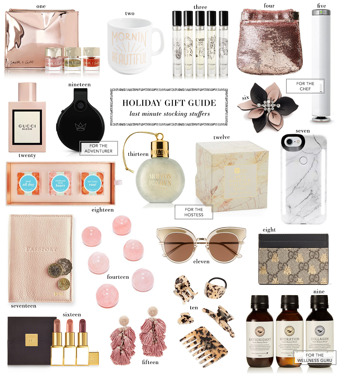 Holiday Gift Guide | Last Minute Stocking Stuffers
