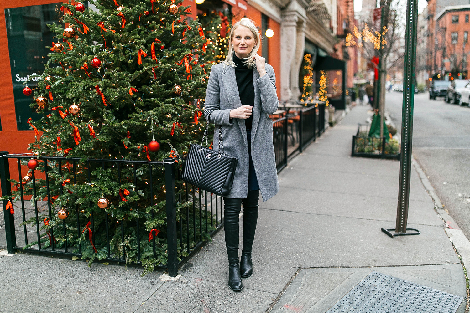 Stuart Weitzman Lowland Leather Boots | The Style Scribe