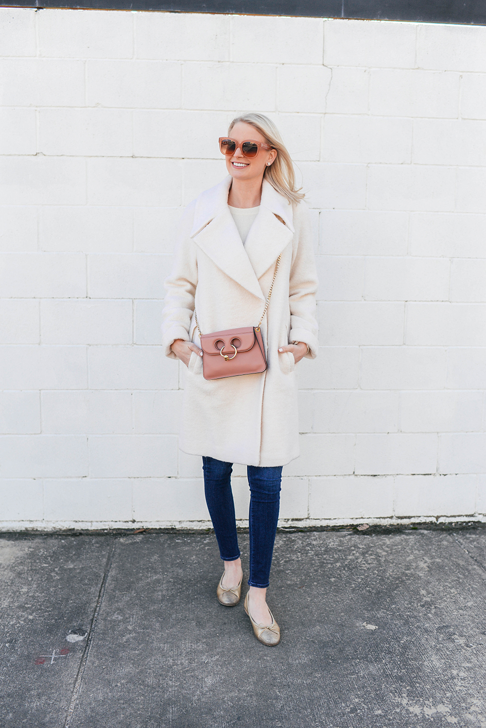 JW Anderson Pierce Bag in Pink | Dallas Style Blogger