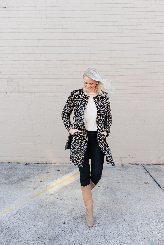 Best Leopard Coats of 2018 | Dallas Fashion Blog