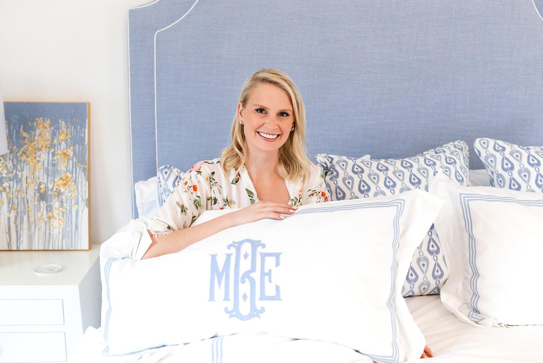 Custom Matouk Bedding | Dallas Lifestyle Blogger