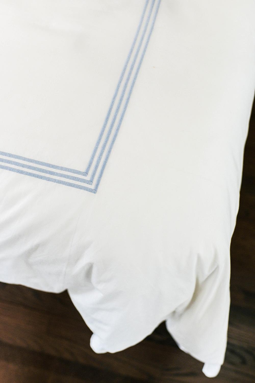 Matouk Custom Bed Linens | Dallas Lifestyle Blogger