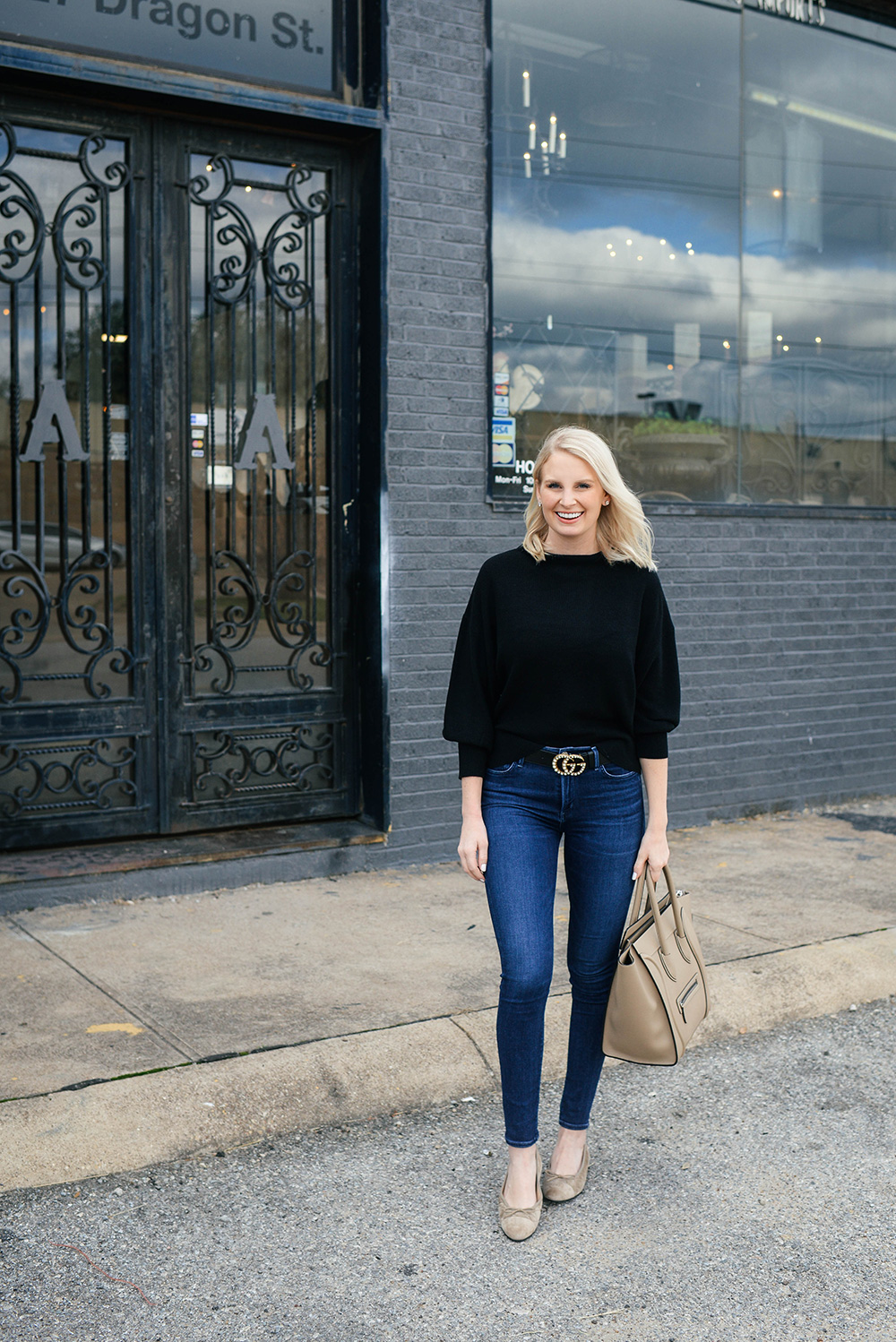 Michael Stars Dolman Sleeve Pullover | Dallas Style Blogger