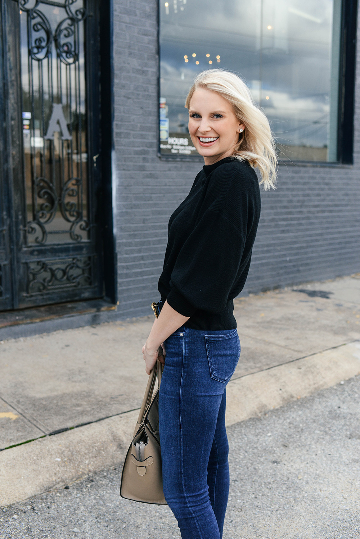 Michael Stars Dolman Sleeve Pullover | Dallas Style Blogger