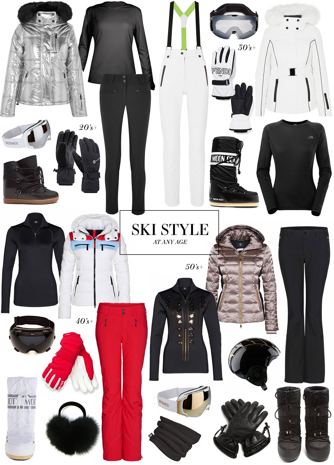Ski Style At Any Age | The Style Scribe