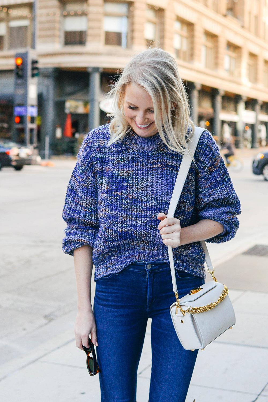 Alexander Mcqueen Box Bag + ACNE Studios Sweater | Dallas Style Blogger